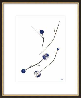 "Blue Branches, 16"" x 20"" - Artfully Walls"