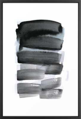 brush strokes 7 Framed Art Print - Society6