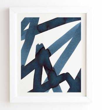 ASSERTION, Framed art print - Wander Print Co.