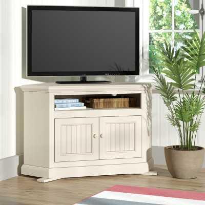 "Didier Corner TV Stand for TVs up to 43"" - Wayfair"