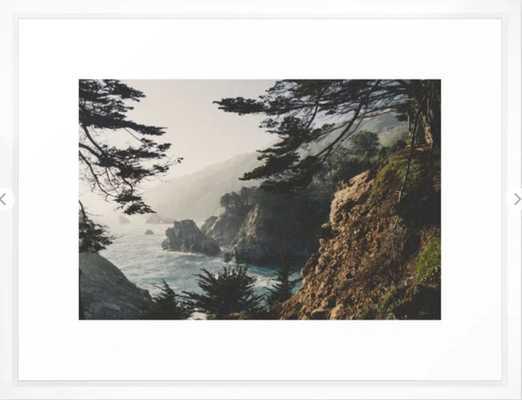 Big Sur Framed Art Print by Ryan Matthew - Society6