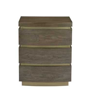 PROFILE 3 DRAWER NIGHTSTAND - Perigold