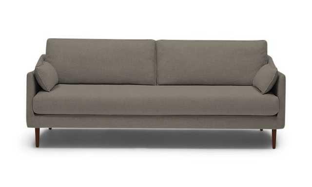 Brown Bates Mid Century Modern Sofa - Dawson Brindle - Mocha - Joybird
