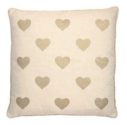 Ellis Love with Small Heart Throw Pillow - Wayfair