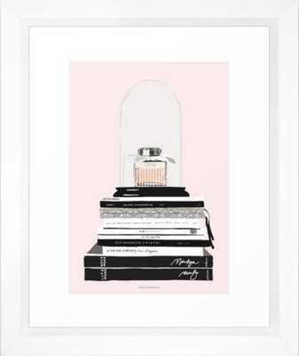 "The Perfume and The Fashion Magazines 10""x12"" - Society6"