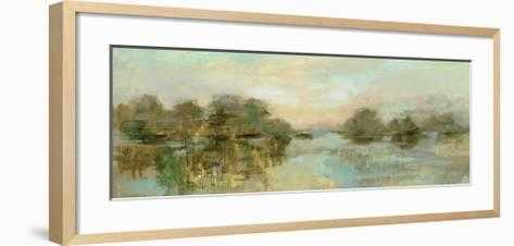 "Dreamy Lake Green - 36"" x 24"" - Chelsea Natural - art.com"