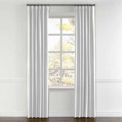 "Convertible Drapery / Classic Linen - White / Pair, Split Draw / Unlined / 120"" - Loom Decor"