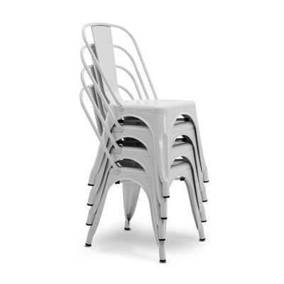 Mclea Stackable Side Chair (Set of 4) - Wayfair