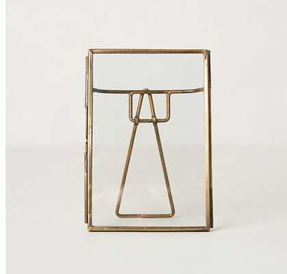 "Pressed Glass Photo Frame - 4"" x 6"" - Anthropologie"