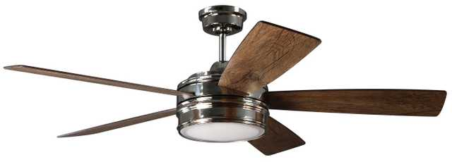 """52"""" Mathers 5 Blade LED Ceiling Fan with Remote - Wayfair"""
