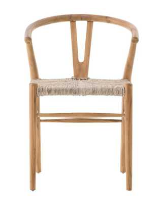 JASPER CHAIR, NATURAL TEAK - McGee & Co.