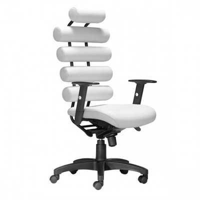 Unico Office Chair White - Zuri Studios