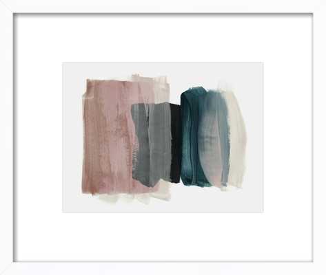 minimalism 1 - White Frame 20 x 26 - Society6