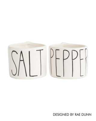 SALT AND PEPPER PINCH BOWLS - McGee & Co.