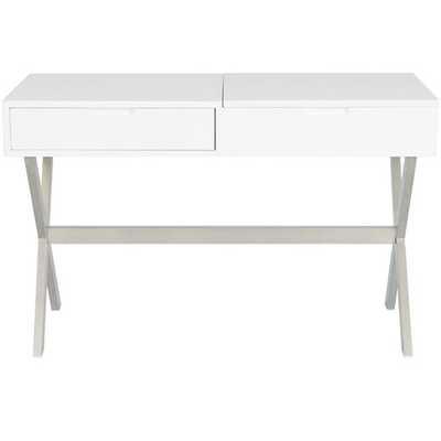 Clancy Desk Vanity Set with Mirror - AllModern