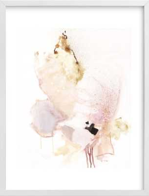 """Delicate - 18x24"""" - White Wood Frame + border - Minted"""