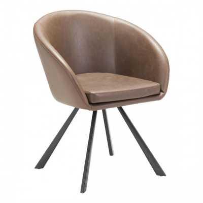 Barisic Dining Chair Espresso - Zuri Studios