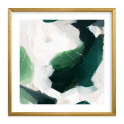 oja - 11x11 - champagne silver frame - Minted