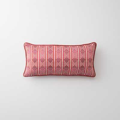 DAMASK + HENNA LUMBAR PILLOW - Schoolhouse Electric