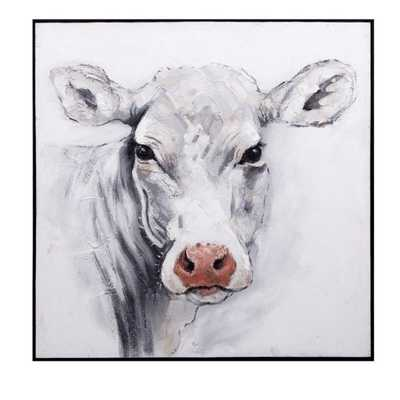 Rickey Cow Oil Painting - Mercer Collection