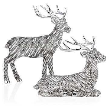 """Glimmer Deer - 7""""H - Z Gallerie"""