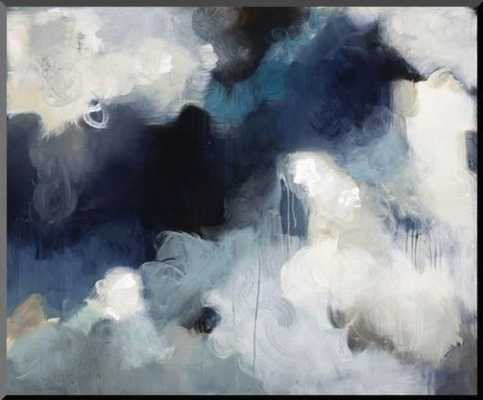 Blues By Kari Taylor / 48 x 36 in / Framed Canvas - art.com