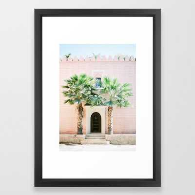 "Travel photography print ""Magical Marrakech"" photo art made in Morocco. Pastel colored. Framed Art Print - Society6"