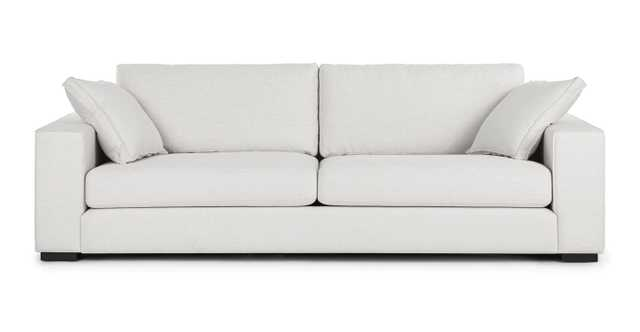 SITKA Quartz White Sofa - Article