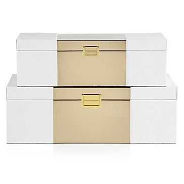 Celeste Box - Set of 2 - Z Gallerie