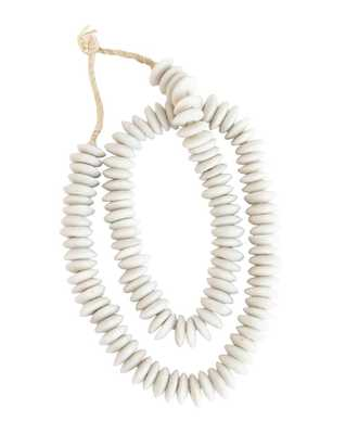 DISC BEADS - IVORY - McGee & Co.