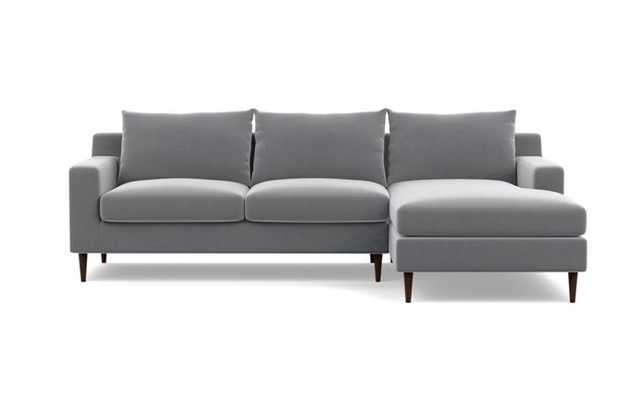"Sloan Sectional Sofa with Right Chaise, 96"" - Interior Define"