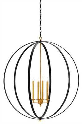 OGDEN ORB CHANDELIER - Currey and Company