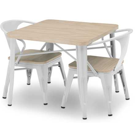 Glastonbury Kids 3 Piece Writing Table and Chair Set - Wayfair