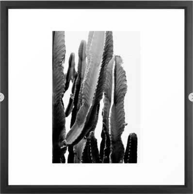 Boho Cactus Framed Art Print - Society6
