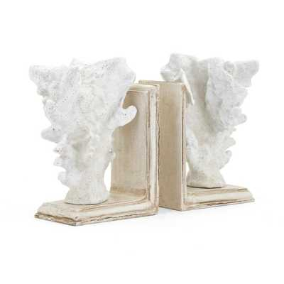 Coral Bookends - Set of 2 - Mercer Collection