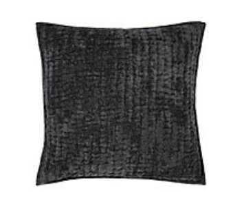Mardon Bedding, Charcoal, Euro Sham - Z Gallerie
