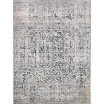 Chateau Gray 9' x 12' Rug - Home Depot