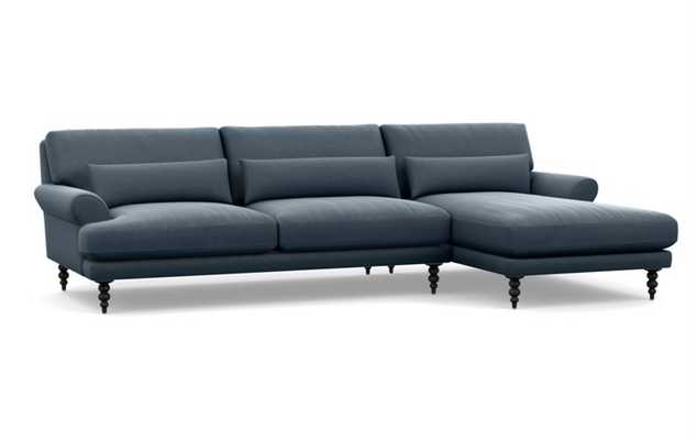 MAXWELL Sectional Sofa with Right Chaise - Interior Define