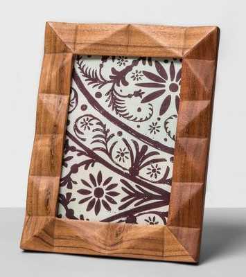 "Dimensional Wood Frame 5""x7"" - Opalhouse - Target"