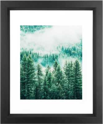 Forest + Fog #photography #nature Framed Art Print - vector black frame 10x12 - Society6