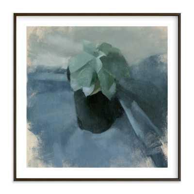 """""""succulent in blue"""" Art Print - Minted"""