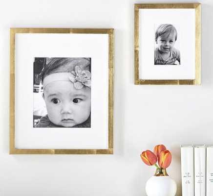 Gold Gallery Frame, 4x6 - Pottery Barn Kids