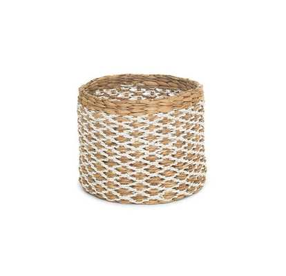 MEDIUM ROUND WOVEN BASKET - Mitchell Gold + Bob Williams