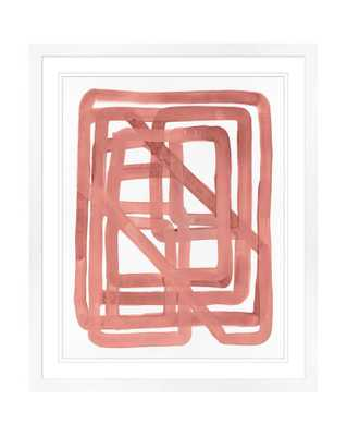 PINK KNOT 1 Framed Art - McGee & Co.