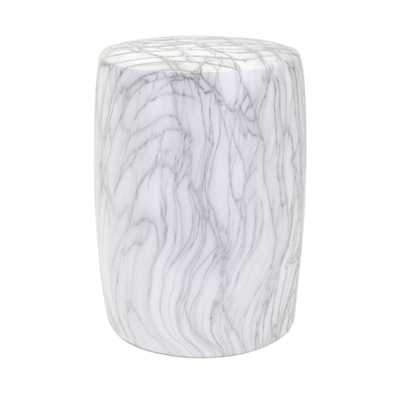 Marella Ceramic Garden Stool - Mercer Collection