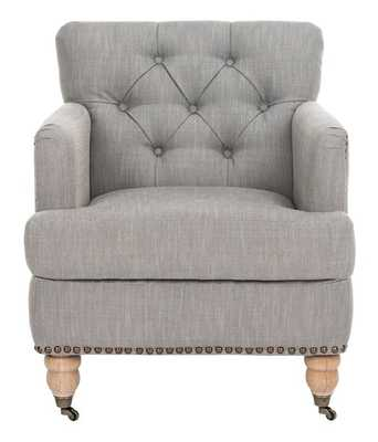 COLIN ARM CHAIR STONE GRAY - Arlo Home