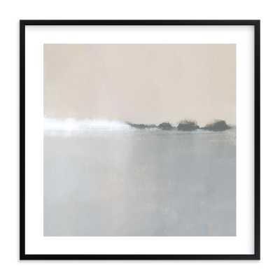 """Spring Melt, 30"""" Rich Black Wood Frame - Minted"""
