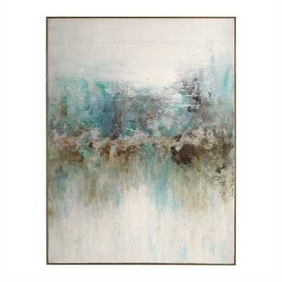 Mountain Top, Hand Painted Canvas - Hudsonhill Foundry
