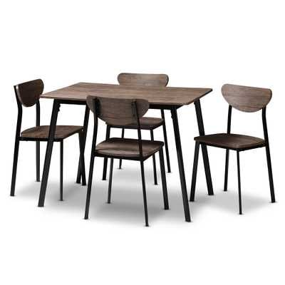 ORNETTE 5-PIECE DINING SET - Lark Interiors