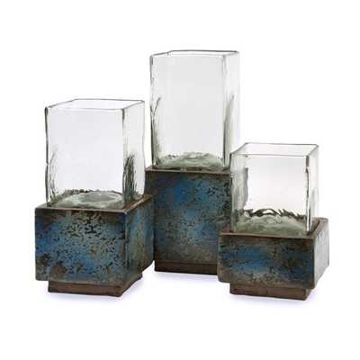 Cubo Terracotta Hurricanes - Set of 3 - Mercer Collection